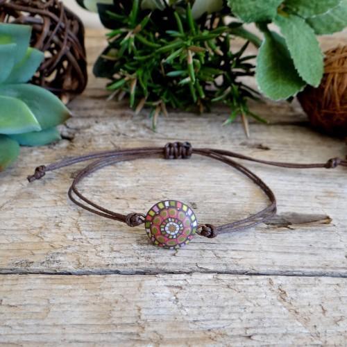 Colorful Handmade String Friendship Bracelet