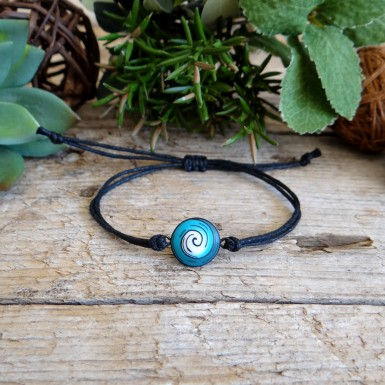 Simple Turquoise Surfers String Bracelet