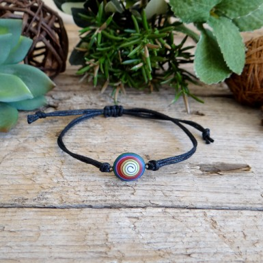 Cool Colorful Spiral String Bracelet for Men and Women