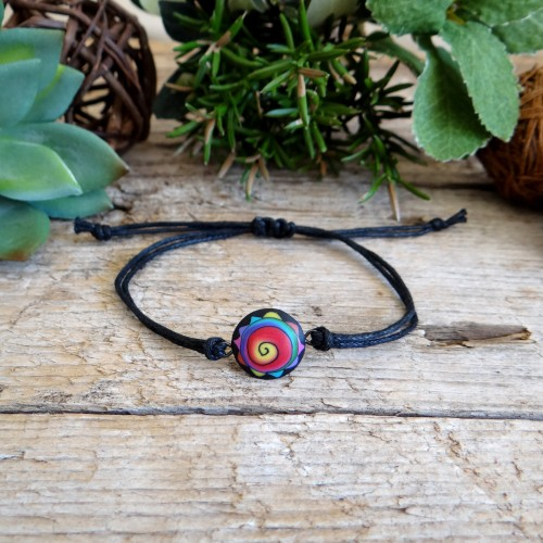 Colorful Abstract Bracelet for Men and Women
