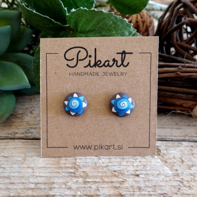 Cool Abstract Stud Earrings for Men and Women